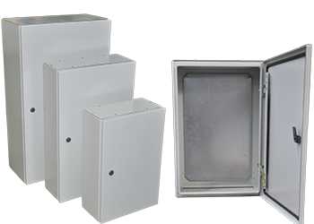Enclosures With Mounting Plate  ( IP66 )