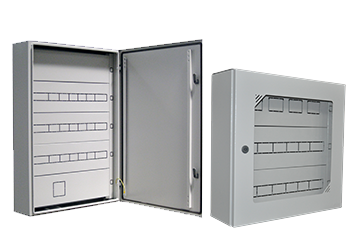 Surface Mounting Enclosures With Cover Plate  ( IP66 )